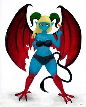 Succubus by rubbe