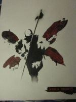 Hybrid Theory Album Cover by the-undertakers-wife
