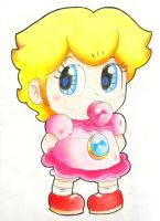 .:Baby Peach:. by ThePinkMarioPrincess