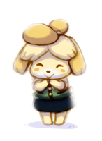 Isabelle~ by Banana-Sundae