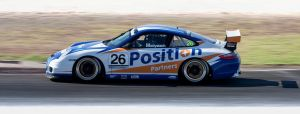 Porsche GT3 at Mallala, South Australia by WiseWanderer