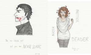 Being Human - Mitchell and Annie by honest-liar-13
