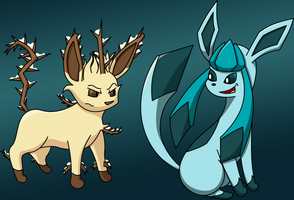 Glaceon used Blizzard... by Pseudinymous