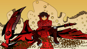 RWBY-Trigun Commission for Alexander-the-Amazing by AtsusaKaneytza