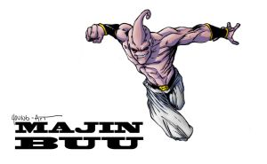 6 Majin Buu by ParisAlleyne
