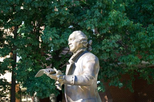 George Mason in Bronze by ChrisNs