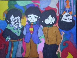 The beatles by salmuchis3