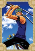 Roronoa Zoro - One Piece by xxJo-11xx