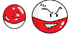 Voltorb and Electrode by Yagami-Lawliet