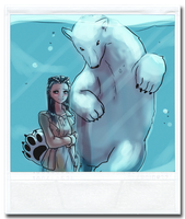 Polarbearoid by Yamino