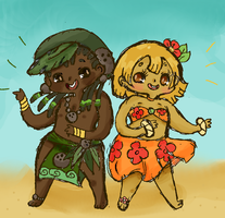 Chibi Tropics by Ask-MusicPrincess3rd