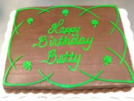 Irish Cake by AingelCakes
