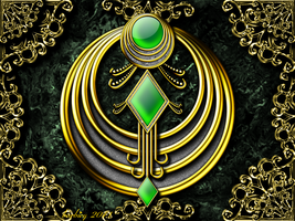 Emerald Deco by barbieq25