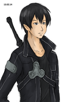 Kirito from SAO by LutherOMight