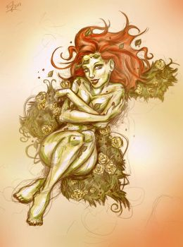 Poison Ivy - COLORED by xTERYLx