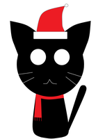 Christmas Kitty by nogirl70