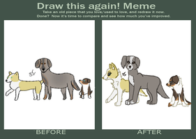 Draw This Again Meme by Shiverice