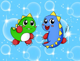Bubble Bobble :D by kuki4982
