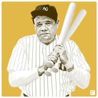 Babe Ruth by monsteroftheid