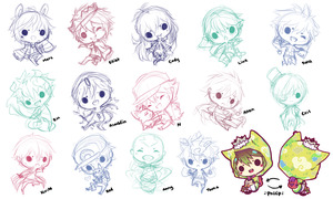 Charms WIP by whispwill