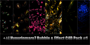 Hyou's Bubble and Effect Pack1 by Hyourinmaru7
