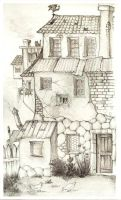 HP - The Burrow by silene-acaulis