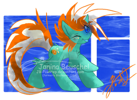 Orange Fizzy by JB-Pawstep