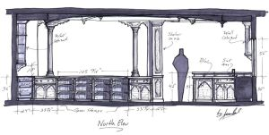 Main Kithcen Concept North Side by JPaulDesigns