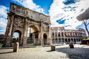 Arch De Constantine by cupplesey