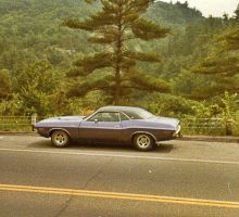70 Dodge Challenger RT/SE 440 Mag by ice-queen-blue