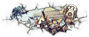 Borderlands 2 game banner V2 by FYPO