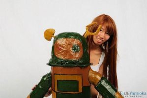 Clannad Ushio and Robot 2 by ItsKumiho