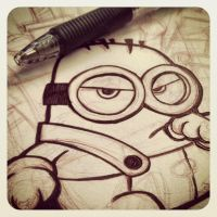 Minion_Sketch by ChenUp