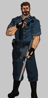 Officer Graves by Sexy-Bacon