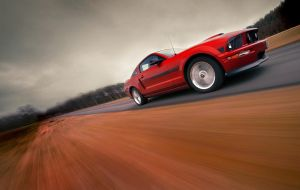 Mustang speeding by dejz0r