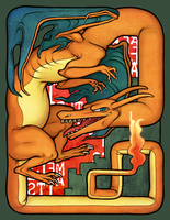 Charizard by atomicfiction