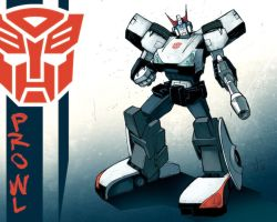 IDW Prowl Commission by dcjosh