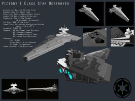 Victory I Class Star Destroyer by Davis--237834