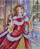 Belle (Christmas time) by Alena-Koshkar