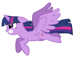 Twilight Flying (Vector) by TheAljavis