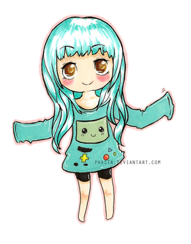BMO Chibi by Phasta
