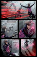 Gambit page 4 Weapon X FC by ColtNoble