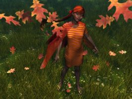 Autumn Leaves by xmas-kitty
