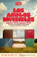 Amigos Invisibles Poster by joumanji