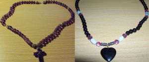 Necklaces by Crosseyed-Cupcake