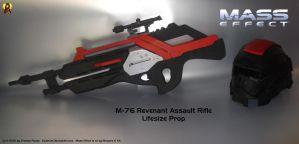 M-76 Revenant Mass Effect Prop by Euderion