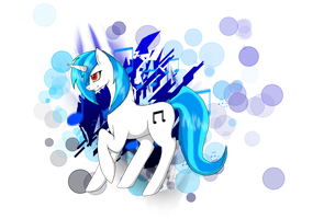 Vinyl Scratch by AngelInHeart