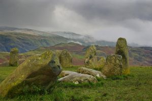 Castlerigg stone circle stock by AngiWallace