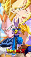 Collab Dragon Ball Z ''la Batalla De los dioses'' by nicouzumaki