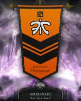 Dota2 TI4 Banners - Fnatic by goldenhearted